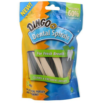 Dingo Dental Spiral 15 ct
