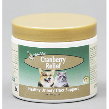 NaturVet Cranberry Relief Plus Echinacea Powder for Dogs and Cats 50 gm