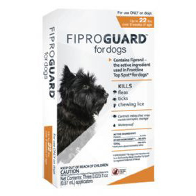 Fiproguard for Dogs 4-22 lb  3 Dose
