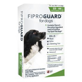 Fiproguard for Dogs 23-44 lb  3 Dose