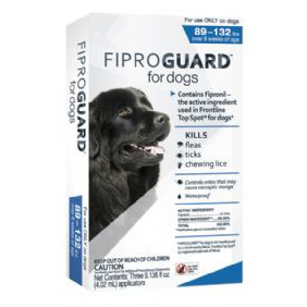 Fiproguard for Dogs 89-132 lb  3 Dose