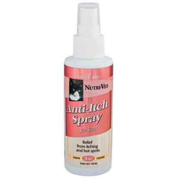 Nutri-Vet Anti-Itch Spray for Cats 4 oz