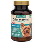 NaturVet Quiet Moments Calming Aid Plus Melatonin Chewable Tabs 30 ct
