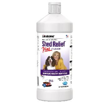 Linatone Shed Relief Plus for Dogs and Cats, 32 ounces