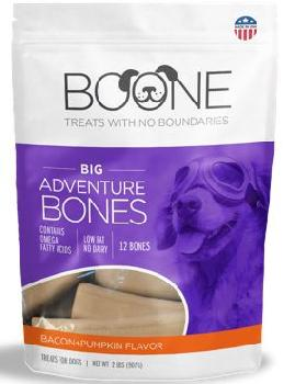 Boone Big Adventure Bones Bacon-Pumpkin 32oz
