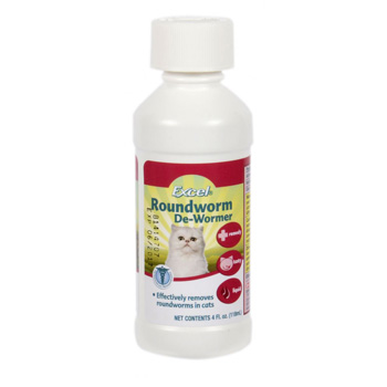 Excel Roundworm for Cats 4 oz