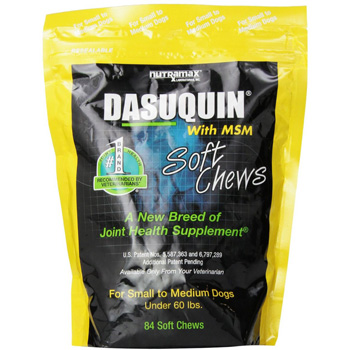 Dasuqin + MSM Soft Chews Small/Medium Dogs 84 ct