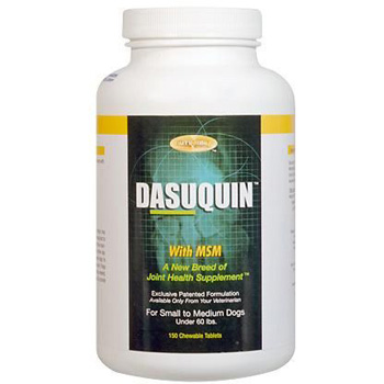 Dasuqin + MSM Chewable Tablets Small/Medium Dogs 150 ct