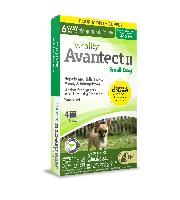 Vetality Avantect II for Small Dogs, 4-10 Pounds, 4 Doses