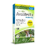 Vetality Avantect II for Medium Dogs, 11-20 Pounds, 4 Doses