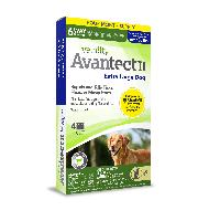 Vetality Avantect II for Extra Large Dogs, over 55 Pounds, 4 Doses
