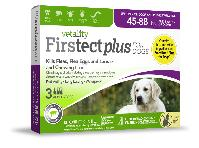 Firstect Plus Dogs 45-88 lb  3 Dose