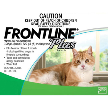 Frontline Plus for Cats and Kittens Up to 8-Weeks and Older 3 Dose
