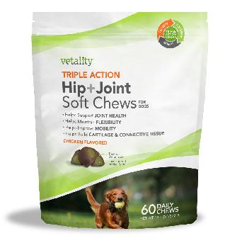 Vetality Hip and Joint Long Lasting Chews 14 ct