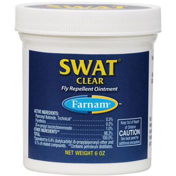 Swat Clear Fly Repel Ointment 7 oz