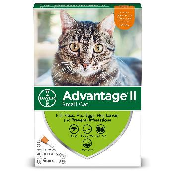 Bayer Advantage II Small Cat 5-9 lb   6 Dose