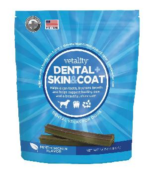 Vetality Dental Plus Skin And Coat Sticks 10 oz.