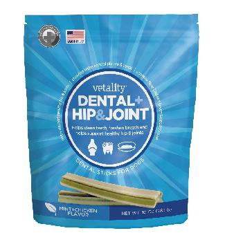Vetality Dental Plus Hip and Joint Sticks 10 oz.