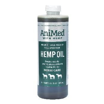 Hemp Oil for Horses, AniMed with Hemp, 35 ounces