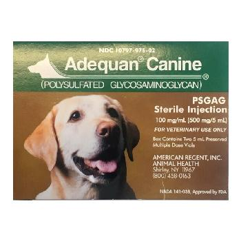 Adequan Canine Injection for Dogs 100 mg/mL Single 5 mL Vial
