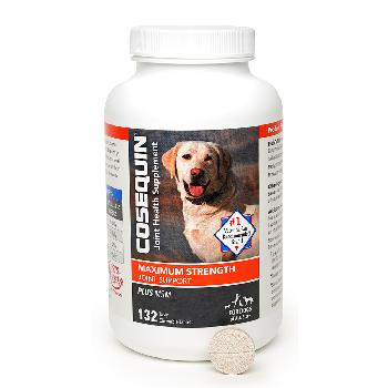 Cosequin Maximum Strength Plus MSM Chewable Tablets, 132 count
