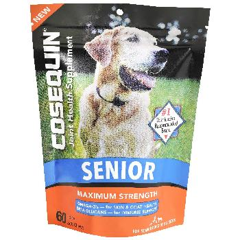 Cosequin Senior Max Strength Joint Health Soft Chews for Dogs, 60 count
