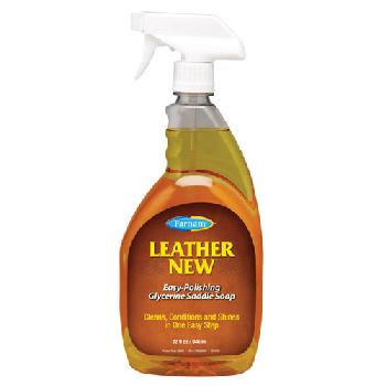 Farnam Leather New Easy-Polishing Glycerine Saddle Soap 32 fl oz