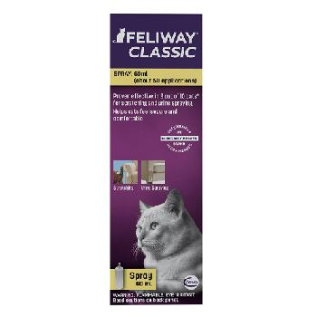 Feliway Classic Travel Calming Cat Spray, 60 mL