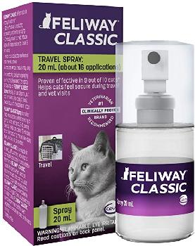 Feliway Classic Travel Calming Cat Spray 20 mL