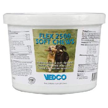 Flex 2500 Soft Chews for Dogs, 120 Count