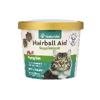 NaturVet Hairball Soft Chews Cup 60 ct
