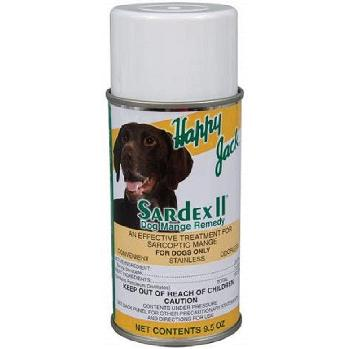 Happy Jack Sardex II Dog Mange Remedy 9.5 oz