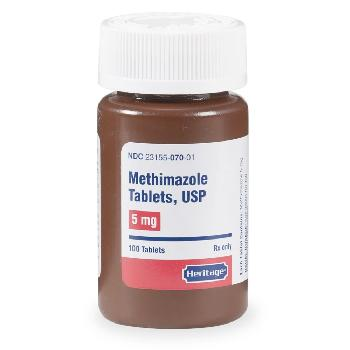 Methimazole Tablets for Cats 5 mg, 100 ct