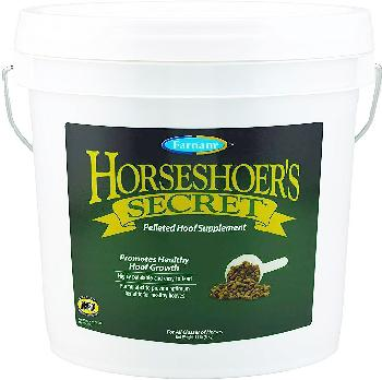 Farnam Horseshoer's Secret Pelleted Hoof Horse Supplement, 11-lb bucket