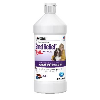 Linatone Shed Relief Plus for Dogs and Cats, 16 ounces