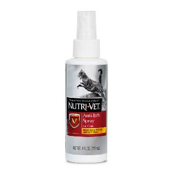 Nutri-Vet Anti-Itch Spray for Cats, 4 oz.