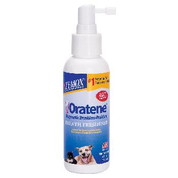 Oratene Breath Freshener for Dogs and Cats, 4 oz