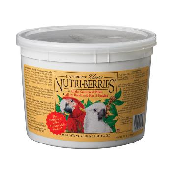 Lafeber Nutri-Berries Macaw and Cockatoo Food, 3.5 pounds