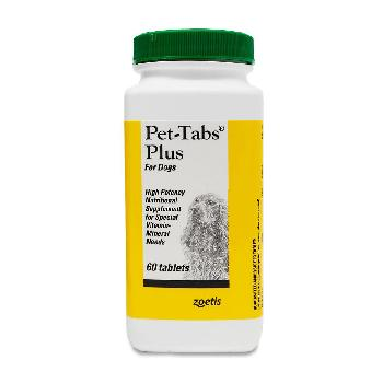 Pet-Tabs Plus for Dogs, 60 count