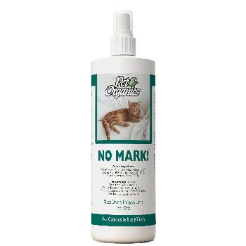 NaturVet Pet Organics No Mark! Spray for Cats, Stops Urine Marking, 16 oz