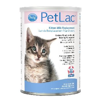 PetAg PetLac Milk Replacement Powder for Kittens, 10.5 oz