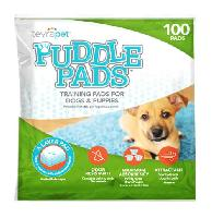 TevraPet Puddle Pads for Dogs and Puppies, 100 pads