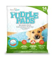 TevraPet Puddle Pads for Dogs and Puppies, 14 pads