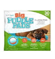 TevraPet Big Puddle Pads for Dogs and Puppies, Extra Large, 30 pads