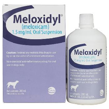 Meloxidyl (meloxicam) 1.5mg/ml Oral Suspension 200 ml Bottle