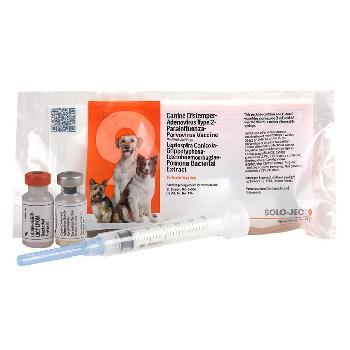 Solo-Jec 9 Vaccine for Dogs, 1 single dose with syringe