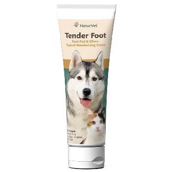 NaturVet Tender Foot, Foot Pad & Elbow Topical Moisturizing Cream, 5 ounces