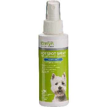 Tomlyn Hot Spot Spray Allercaine for Dogs, 4-oz bottle