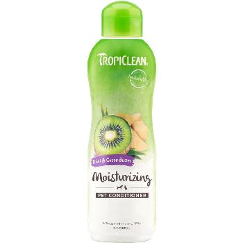 TropiClean Kiwi & Cocoa Butter Dog & Cat Conditioner, 20 ounces