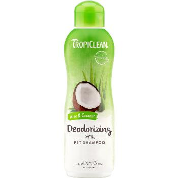 TropiClean Deodorizing Aloe & Coconut Dog & Cat Shampoo, 20 ounces